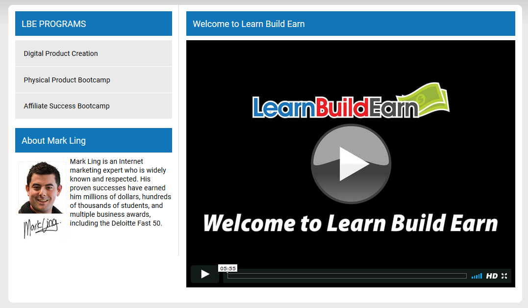 learn build earn