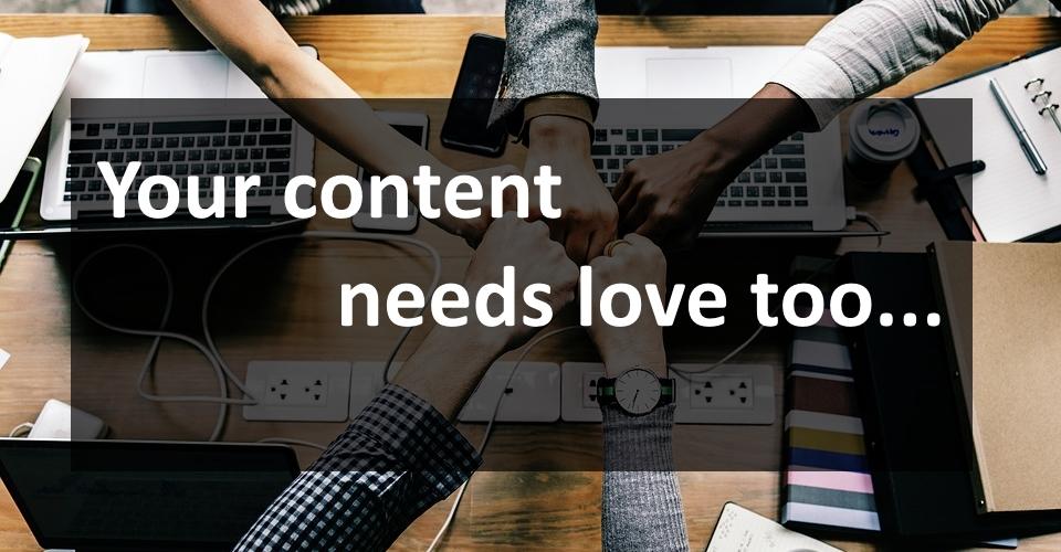 content needs love