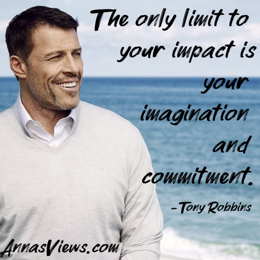 Best Tony Robbins Quotes Both Motivational And