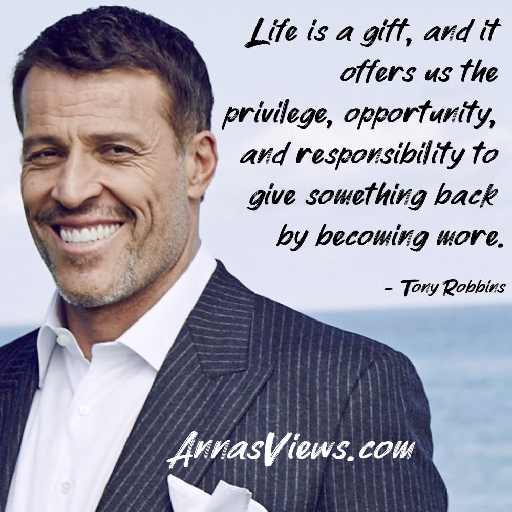 tony robbins motivational quote