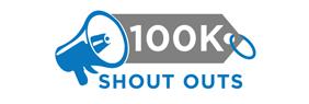 100k shout outs