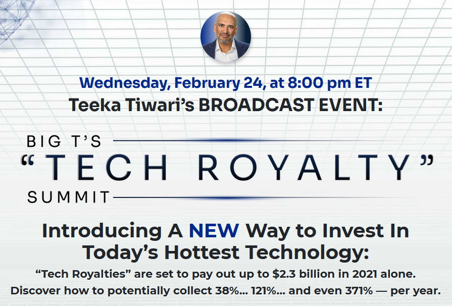 tech royalty summit